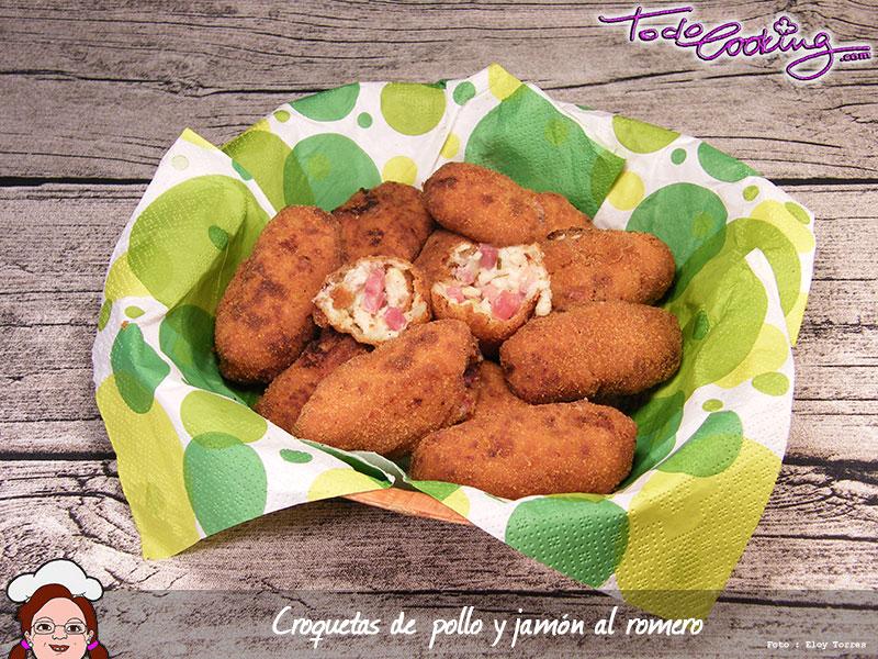 Croquetas de pollo y jamón
