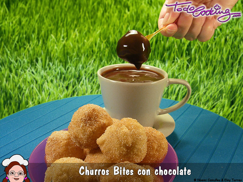 Churros bites