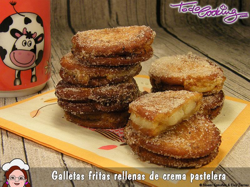 Galletas Fritas Rellenas