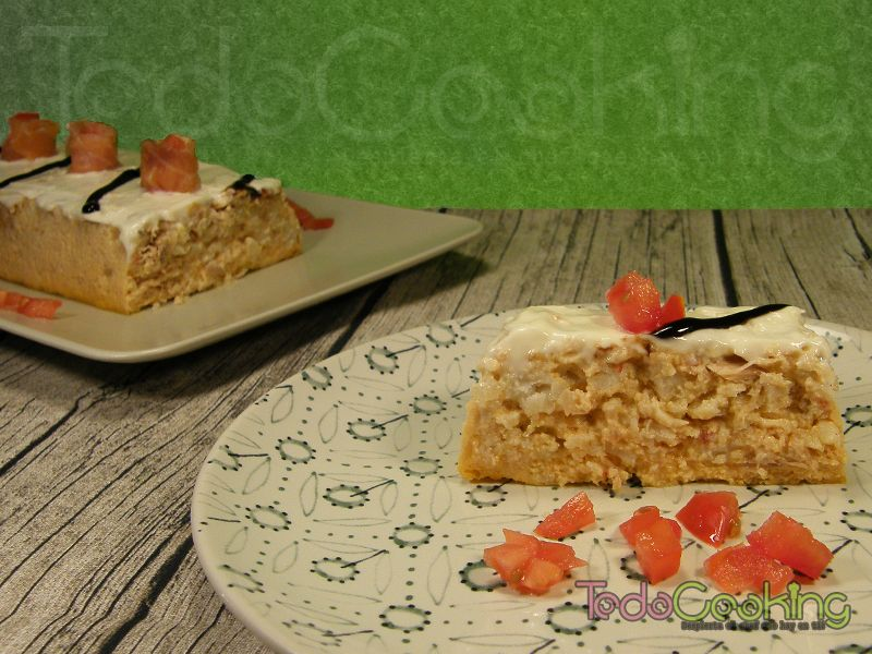 Pastel de merluza y at n en el microondas - Cocinar atun congelado ...