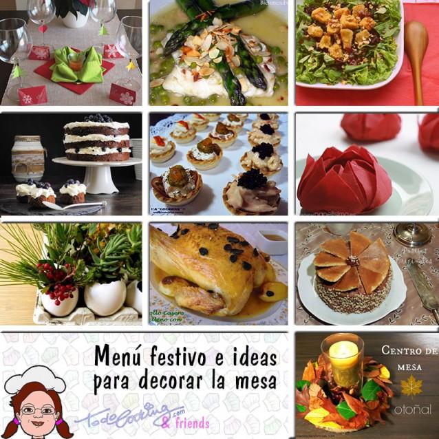 Men especial navidad e ideas para decorar la mesa - Ideas para decorar la mesa de navidad ...