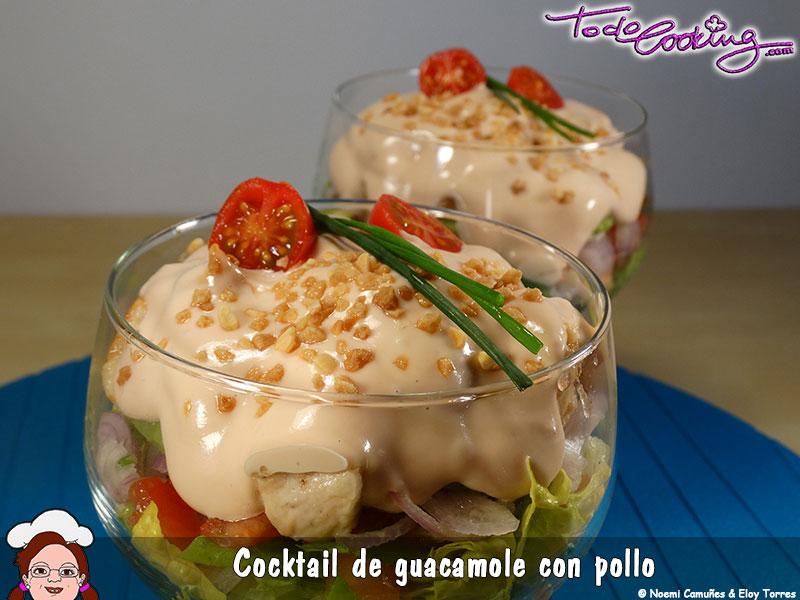 Cocktail Guacamole Pollo