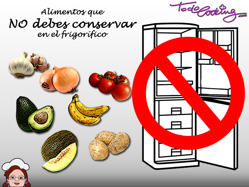 Alimentos que no debes conservar en el frio - Alimentos frios ...
