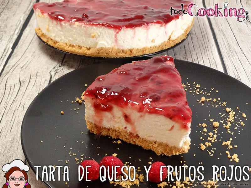 Tarta-de-queso-y-frutos-rojos