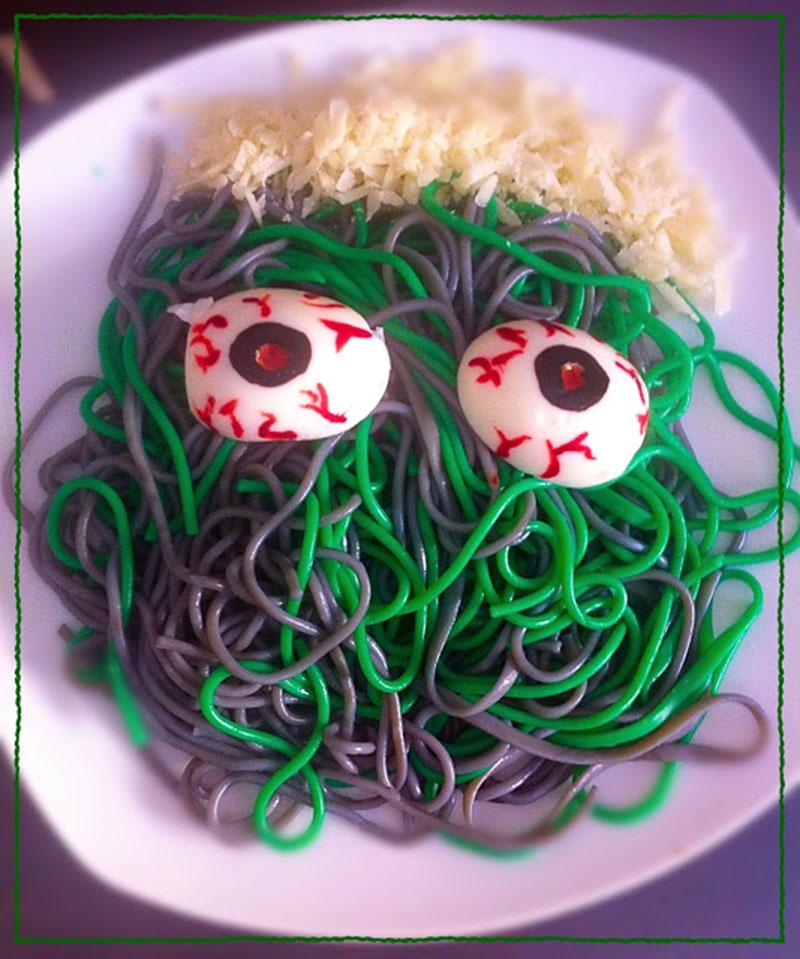 Espaguettis monstruosos