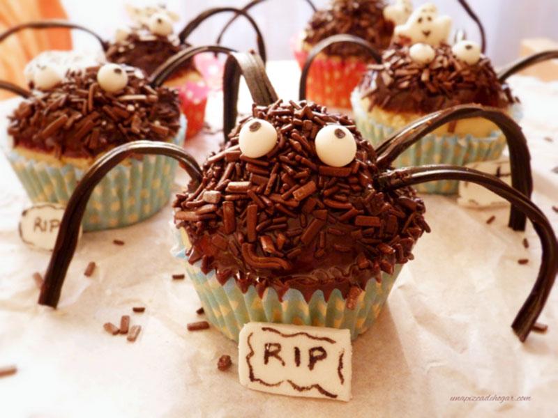 Cupcakes Spider