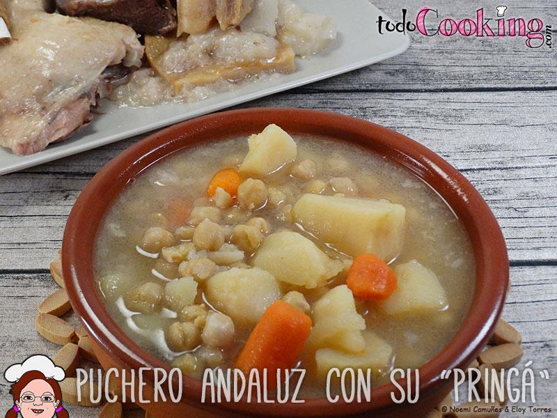 Puchero Andaluz Pringa