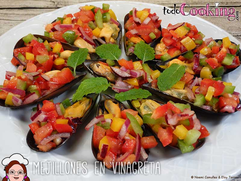 Mejillones en vinagreta