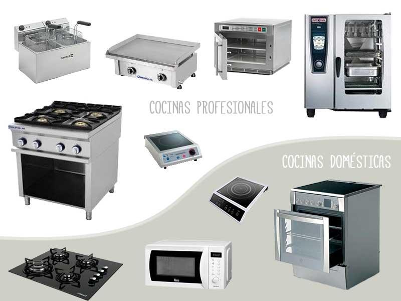 La cocina de tu casa vs una cocina profesional for Cocina profesional en casa
