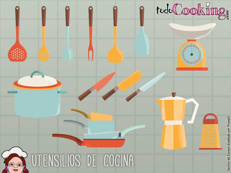Algunos utensilios b sicos que no pueden faltar en tu cocina for Utensilios de cocina artesanales