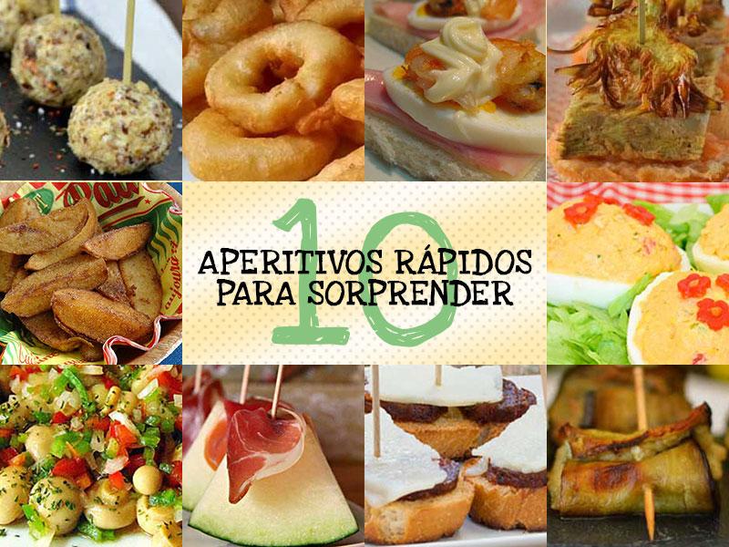 10 aperitivos r pidos y resultones para sorprender - Comida para sorprender ...
