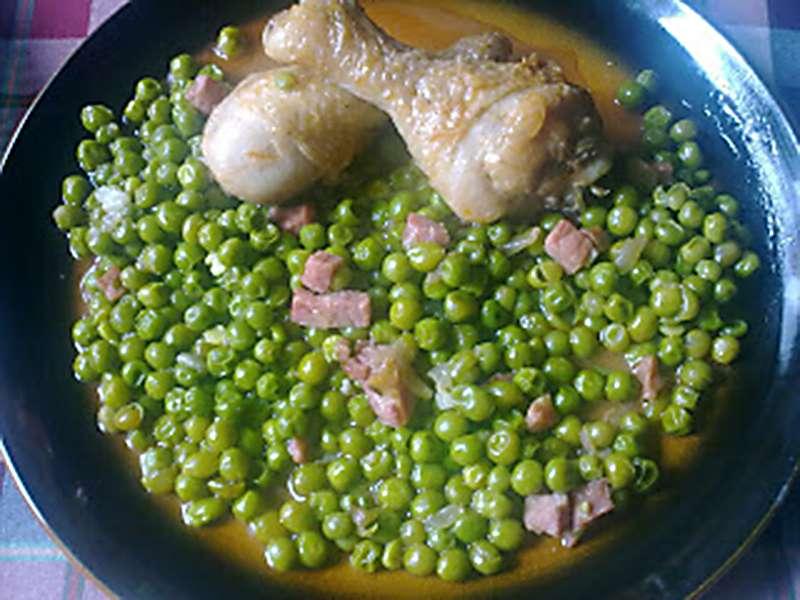 ##Guisantes con pollo