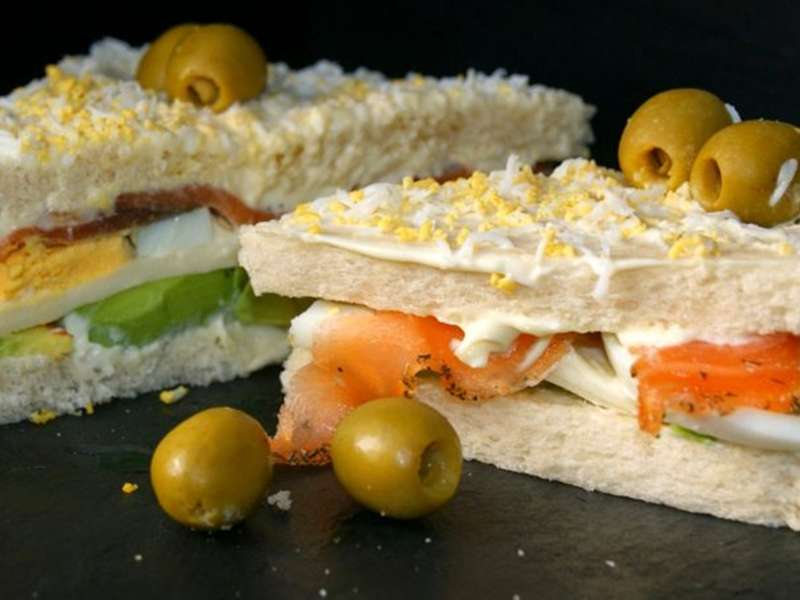 ##Sandwich-de-salmón-y-aguacate