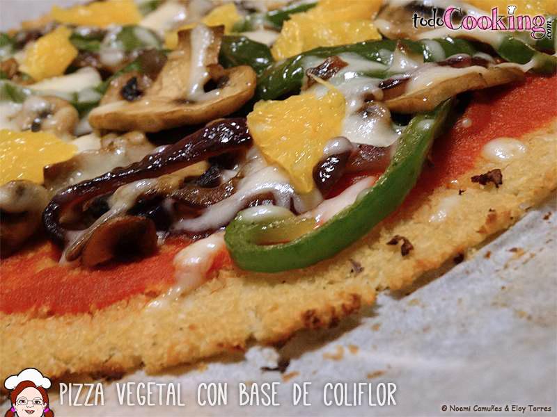 Pizza Vegetal Base Coliflor