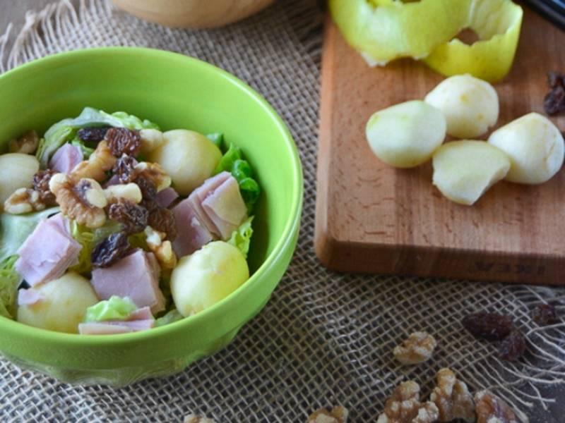 ##Ensalada-de-pavo-y-manzana-con-salsa-de-yogur