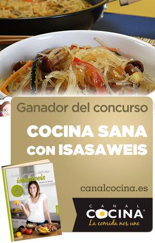 wok fideos celofan verdura