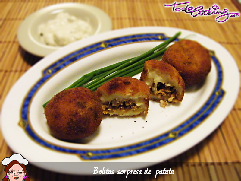 Bolitas sorpresa de patata