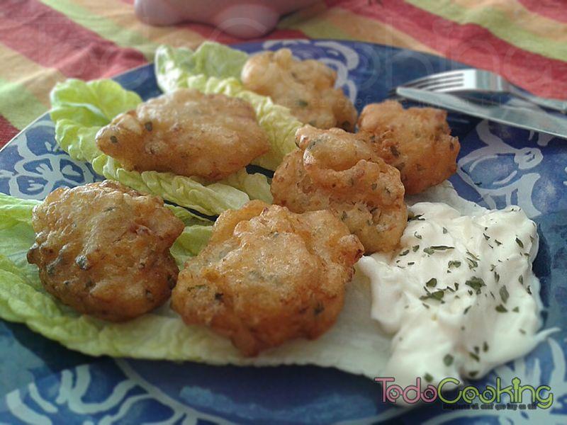Buñuelos de bacalao - todocooking recetas para un menú de semana santa