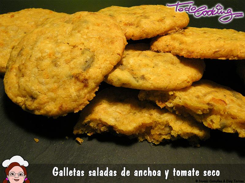 Galletas Saladas Anchoa Tomate
