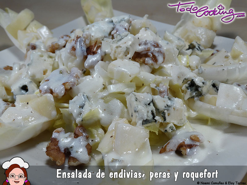 Ensalada Endivias Roque