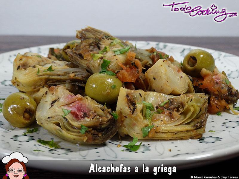 Alcachofas Griega