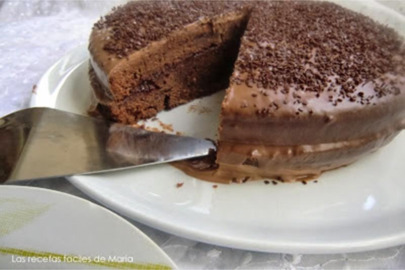 Tarta de chocolate Donna Hay