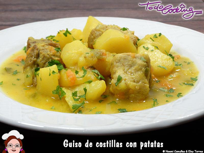 Guiso Costillas Patatas