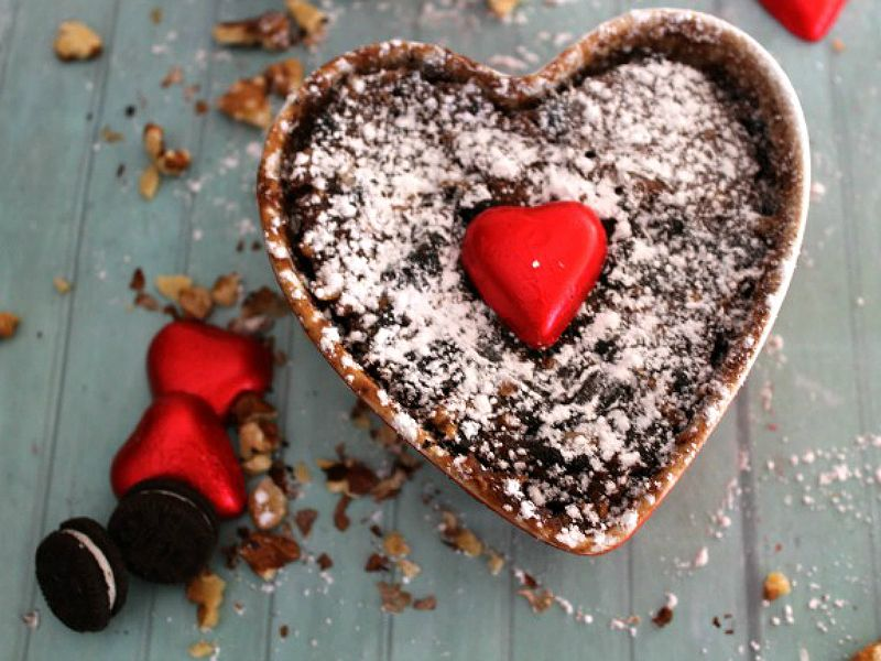 ##Brownie de oreo