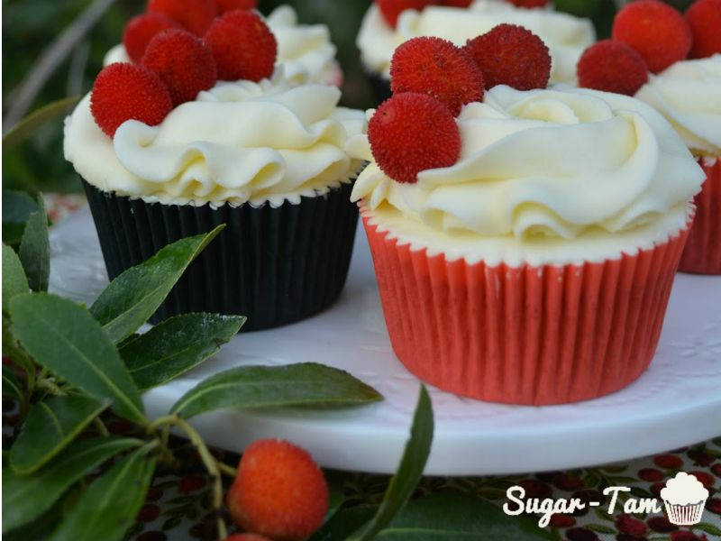 ##Cupcakes de madroño