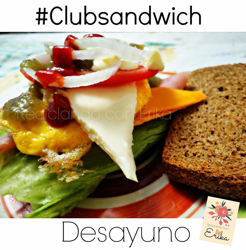 Sandwich desayuno recopilación de sándwiches