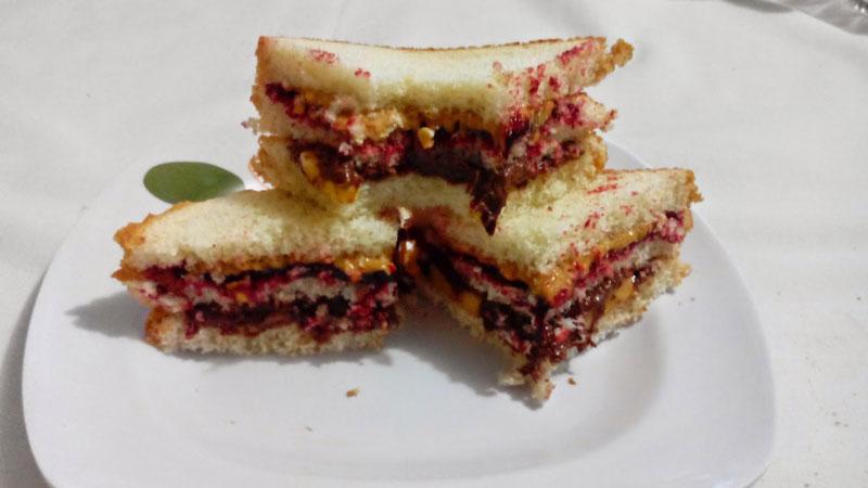 Club Sandwich dulce recopilación de sándwiches