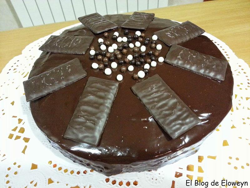 Bizcocho de chocolate y menta bizcochos y otros dulces