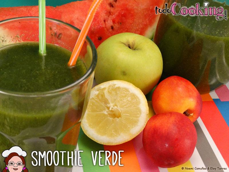 Smoothie verde recetas detox