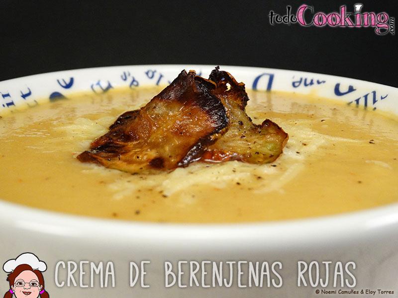 Crema Berenjenas Rojas