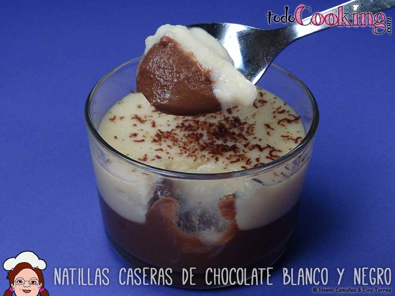 Natillas-chocolate-blanco-y-negro