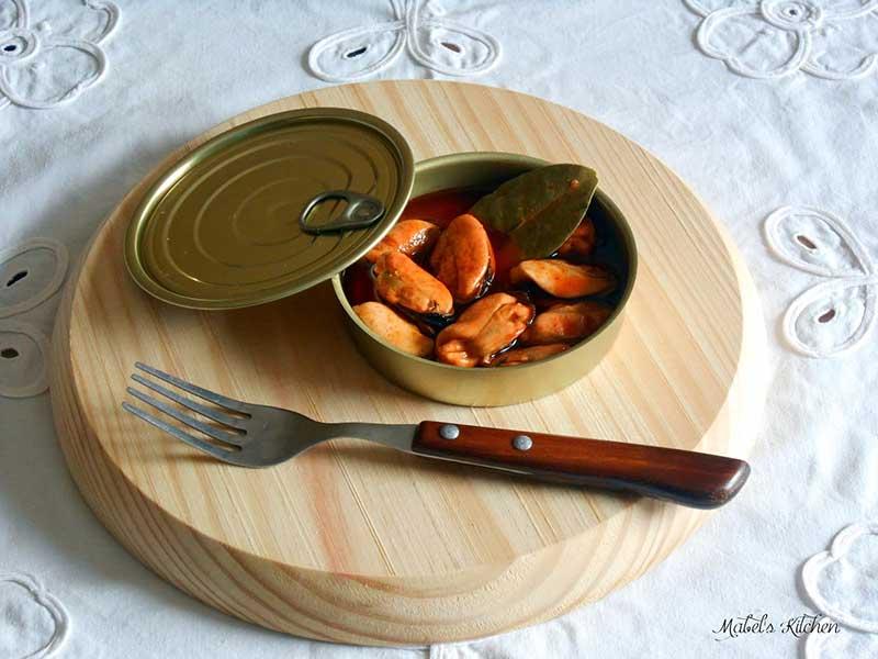 Mejillones en Escabeche Caseros pescados y marisco