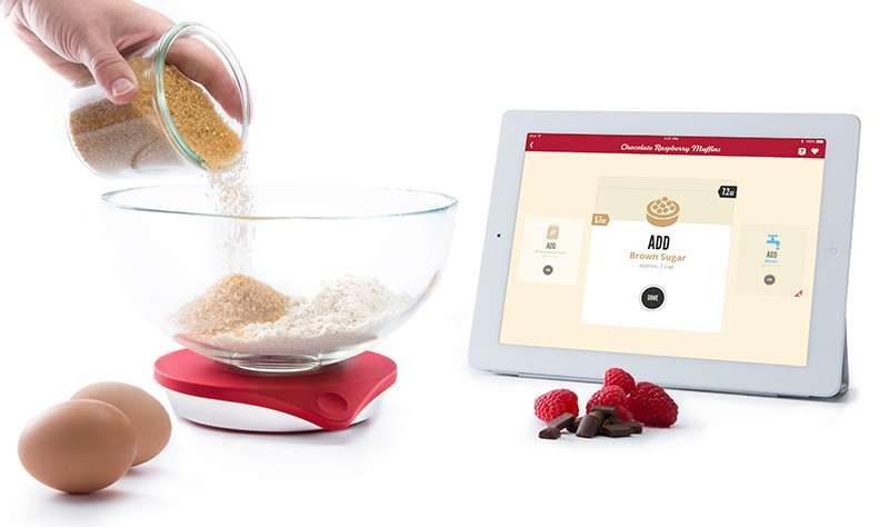 Drop Scale - tecnología en la cocina