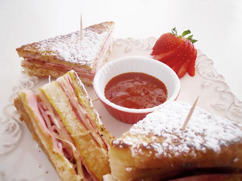 ##Monte-Cristo-Sandwich sándwiches y bocadillos