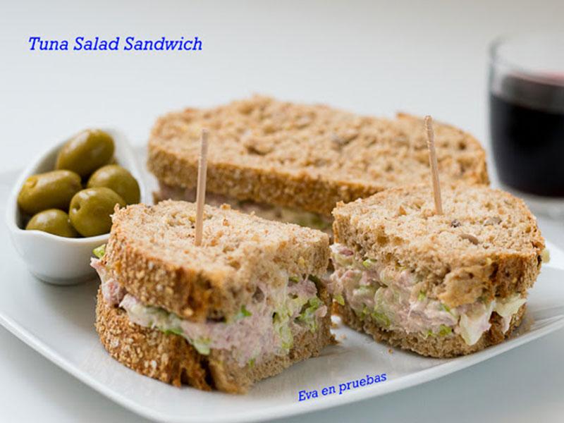 ##Tuna-Salad-Sandwich sándwiches y bocadillos