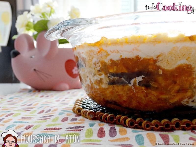 Moussaka de at n receta ligera y sin lactosa for Cocinar a 80 grados