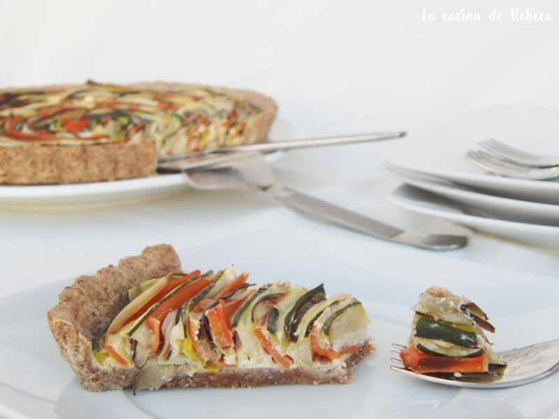 tarta-espiral-de-verduras verduras y hortalizas