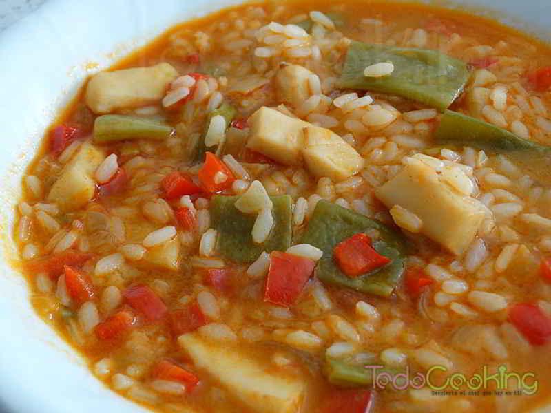 arroz caldoso con sepia
