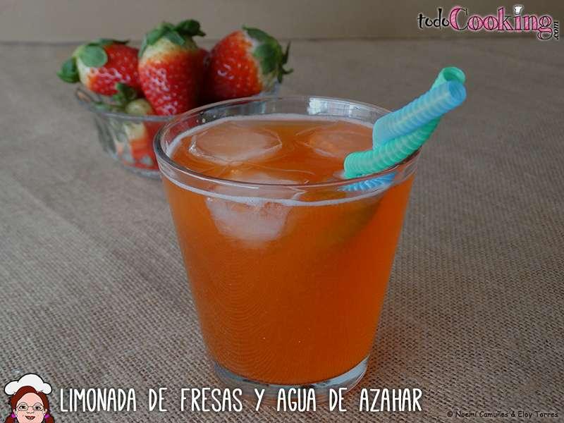 Limonada de fresas, recetas saludables