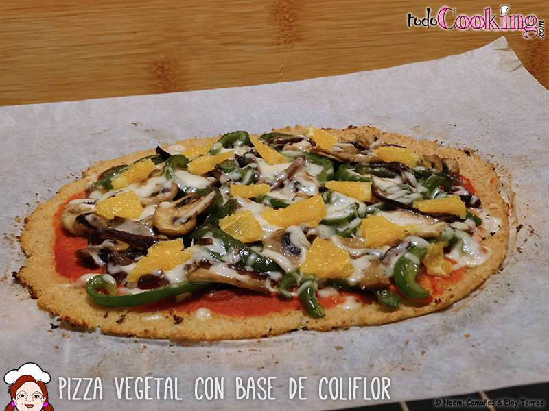 Pizza Vegetal Base Coliflor