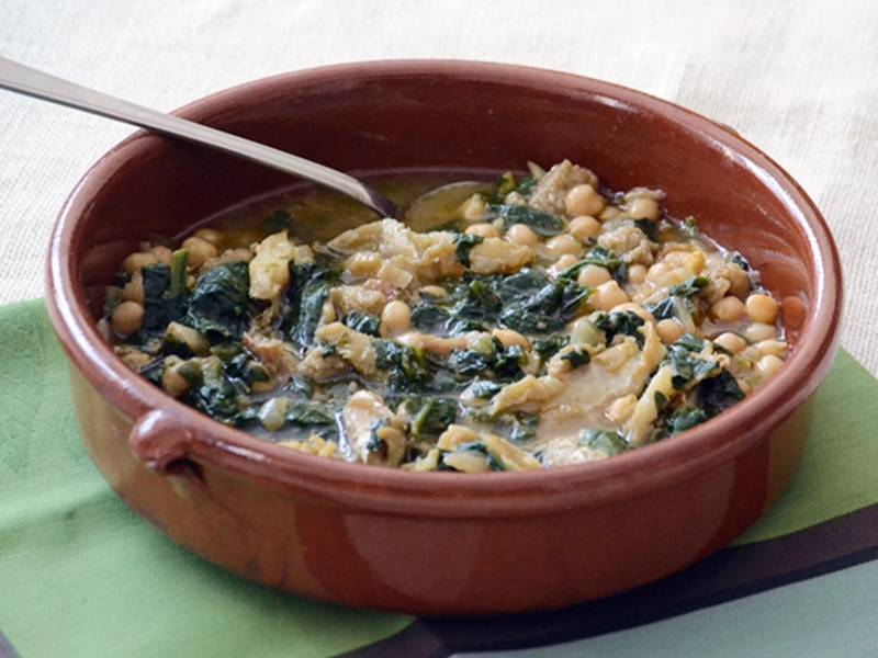 ##Potaje-de-garbanzos-con-bacalao recetas sabrosas con bacalao