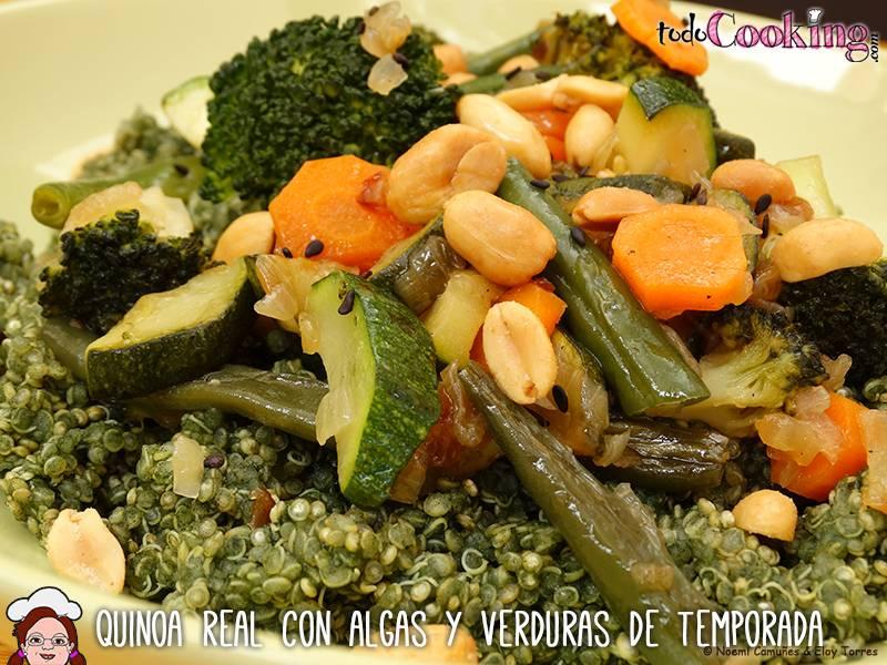 Quinoa Real Algas Verduras