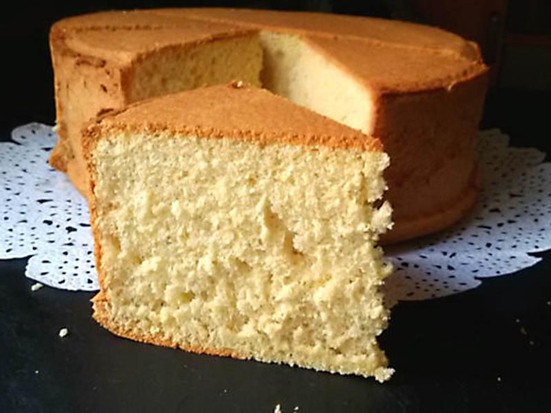 ##Bizcocho esponjoso básico (12 delicias sin lactosa)