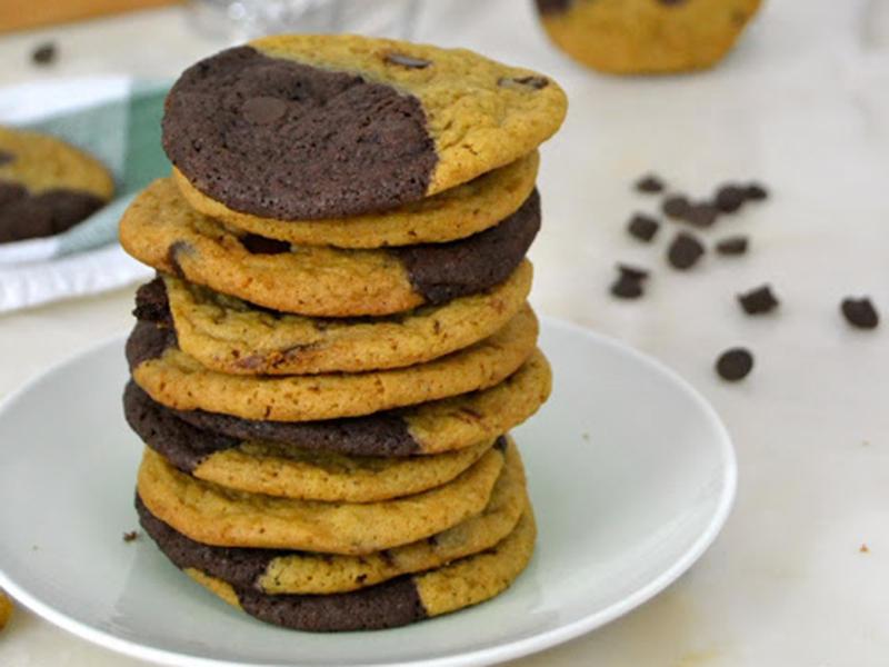 ##Galletas brownkies (12 delicias sin lactosa)